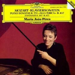 Maria Joao Pires - Mozart: Piano Sonatas K 331, 457, Fantasias K 397, 475