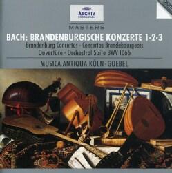 Various - Bach:Brandenburg Ctos 1/2/3