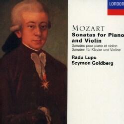 Goldberg/Lupu - Mozart: Violin Sonatas