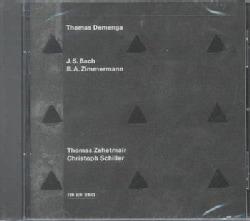 Thomas Demenga - Bach/Zimmermann