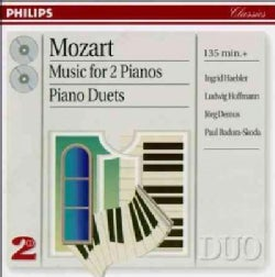 Haebler/Hoffman - Mozart:Music for 2 Pianos/Duets
