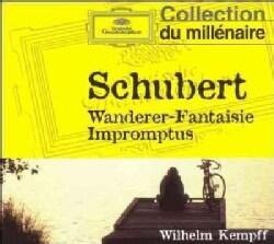 Wilhelm Kempff - Schubert: 'Wanderer' Fantasy Op15, 4 Impromptus D899, 4 Impromtus D935