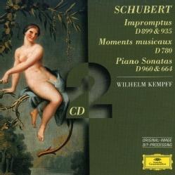 Wilhelm Kempff - Schubert: Piano Sonatas D960 & 664, Moments Musicaux D780, Impromptus D899