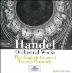 Pinnock/English Conc - Handel: Orchestral Works