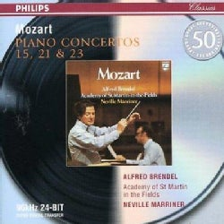 Neville Sir Marriner - Mozart: Piano Concertos Nos 15, 21, 23