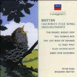 Pears - Britten: Favorite Folk Song Arrangements