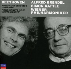 Brendel/Rattle/Vienna Philharmonic Orchestra - Beethoven:Piano Concerto No. 5