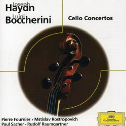 ROSTROPOVICH/SACHER/COLEGIUM MUSICUM ZURICH - BOCCHERINI: CELLO CONCERTO/HAYDN: CELLO CONCERTO