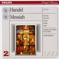 Neville Sir Marriner - Handel: Messiah
