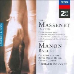 Orchestra and Chorus of The Royal Opera House Covent Garden - Massenet: Manan-Complete Ballet