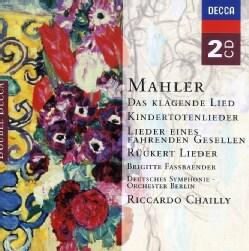Berlin Radio Symphony Orchestra - Mahler: Song Cycles
