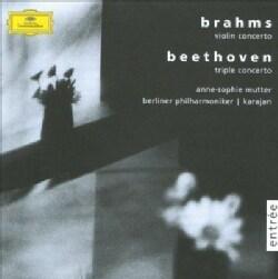 Berlin Philharmonic Orchestra - Beethoven: Triple Concerto Op 56/Brahams: Violin Concerto