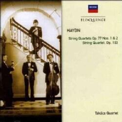 Takacs Quartet - Haydn: String Quartets Op77 Nos 1 & 2, String Quartet Op103