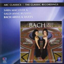 J.S. BACH - ARIAS/SARA MACLIVER SALLY-ANNE RUSSELL