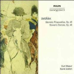 Kurt Masur - Dvorak: Slavonic Rhapsodies 1-3; Slavonic Dances 46