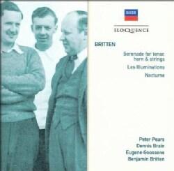 Benjamin Britten - Britten: Serenade For Tenor, Horn & Strings