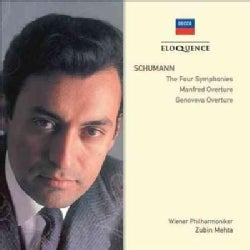 Zubin Mehta - Schumann: The Four Symphonies/Manfred Overture/Genoveva Overture