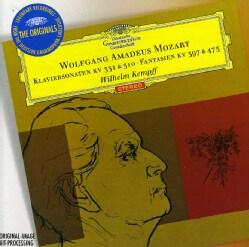 W.A. MOZART - PNO SONS K.310 K.331 FANTASIAS K.397 & K.475