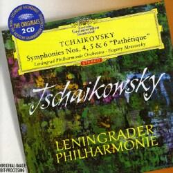 Pyotr Il'yich Tchaikovsky - Tchaikovsky: Symphonies Nos 4, 5 & 6