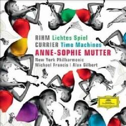 New York Philharmonic - Rihm: Lichtes Spiel; Currier: Time Machines