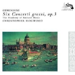 Jaap Schrder - Geminiani: Concerti