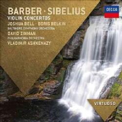 Various - Barber/Sibelius: Violin Concertos