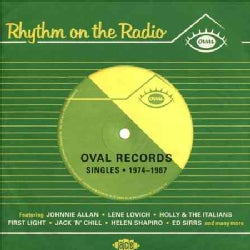 Various - Rhythm On the Radio: Oval Records Singles: 1974-1987