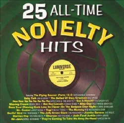 Various - 25 All-Time Novelty Hits