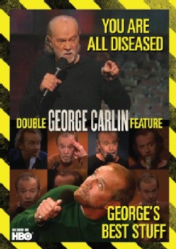 George Carlin Double Feature: Best Stuff/You Are All Diseased (DVD)