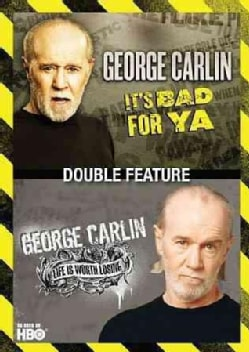 George Carlin: It's Bad For Ya/Life Is Worth Losing (DVD)