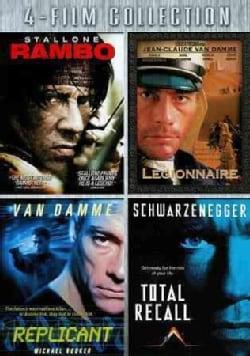 Rambo/Legionanaire/Replicant/Total Recall (DVD)