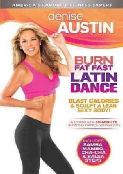 Denise Austin: Burn Fat Fast Latin Dance (DVD)