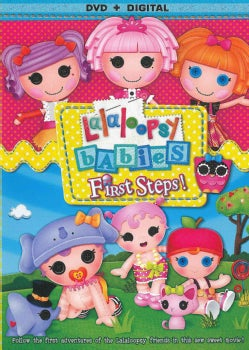 Lalaloopsy: First Steps! (DVD)