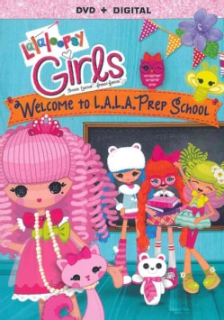 Lalaloopsy Girls: Welcome To L.A. L.A. Prep School (DVD)