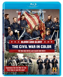 Blood And Glory: The Civil War In Color (Blu-ray Disc)