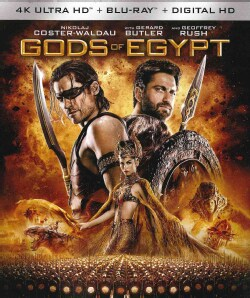 Gods Of Egypt (4K Ultra HD) (4K Ultra HD Blu-ray)