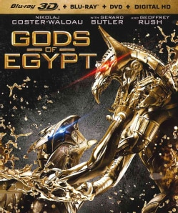 Gods Of Egypt 3D (Blu-ray/DVD)