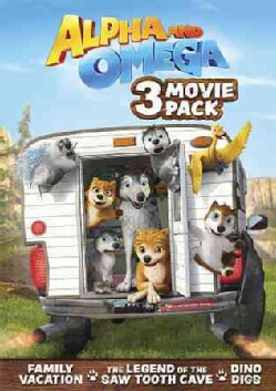 Alpha And Omega Movie 3-Pack (DVD)