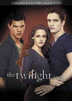 The Twilight Saga 5 Movie Collection (DVD)