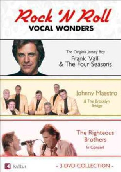 Rock 'N Roll Vocal Wonders: Frankie Valli, Johnny Maestro, Righteous Brothers (DVD)
