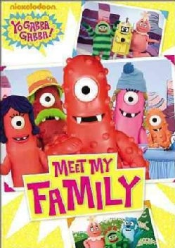 Yo Gabba Gabba: Meet My Family (DVD)