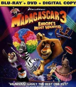 Madagascar 3: Europe's Most Wanted (Blu-ray Disc)