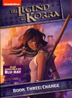 Legend Of Korra: Book Three: Change (DVD)