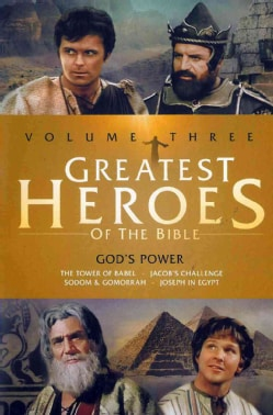 Greatest Heroes Of The Bible Vol. 3/God's Power: Tower Of Babel/Jacob's Challenge/Sodom & Gomorrah/Joseph In Egypt (DVD)