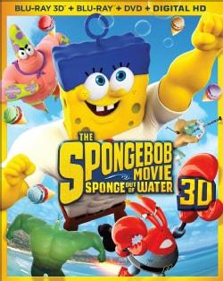 SpongeBob Movie: Sponge Out Of Water 3D (Blu-ray/DVD)