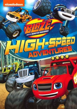 Blaze And The Monster Machines: High-Speed Adventures (DVD)