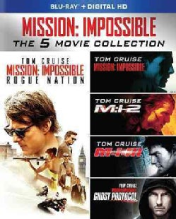 Mission: Impossible 5-Movie Collection (Blu-ray Disc)