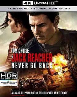 Jack Reacher: Never Go Back (4K Ultra HD) (DVD)