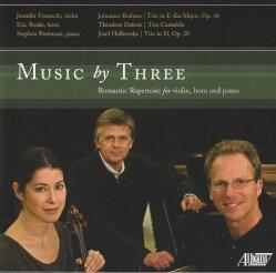 Erik Ruske - Brahms/Dubois/Holbrooke: Music by Three