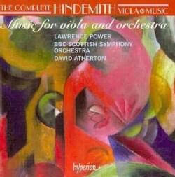 BBC Scottish Symphony Orchestra - Hindemith: Complete Viola Music Vol. 3- Konzertmusik, Der Schwanendreher, Trauermusik, Kamm...